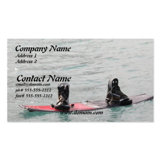MIssing Wakeboarder Business Card