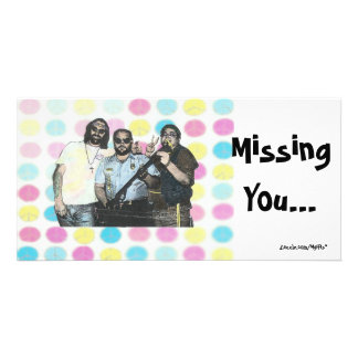 Missing You - 60's Card