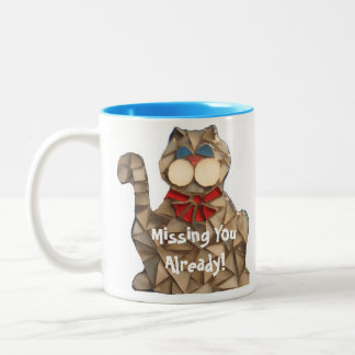 Missing You Already Kitty Mug