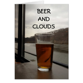 MISSING YOU-BEER AND CLOUDS CARD