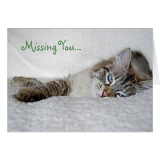 Missing You... Stationery Note Card