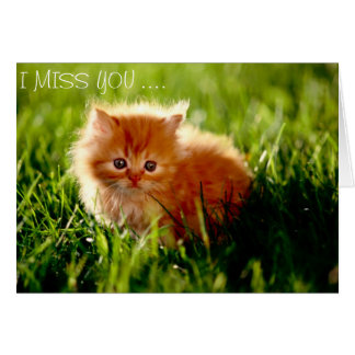 Missing you .... card