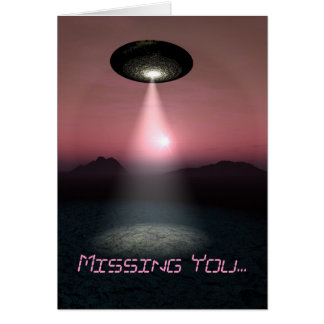 Missing You... Card