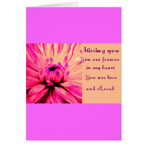 Missing You_ Greeting Cards
