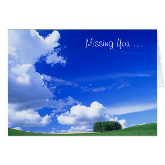 Missing You .... Greeting Cards