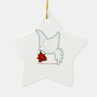 Missing you in Heaven Ornament