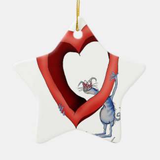 missing you lots, tony fernandes ceramic ornament