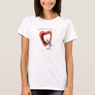 missing you lots, tony fernandes T-Shirt