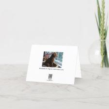 Missing You - Poodle - Card