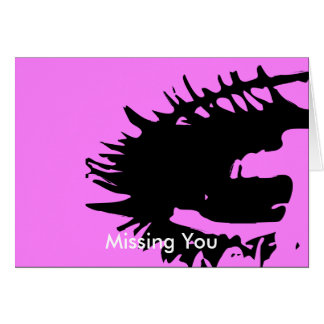 Missing You Postcard Cards