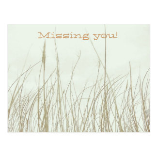 Missing you! Postcards