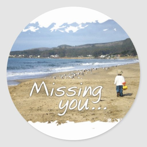 Missing You Stickers