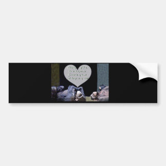 Missing You,Thinking of You_Customize Product Bumper Sticker
