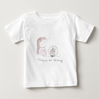 Missing You This Christmas Baby T-Shirt