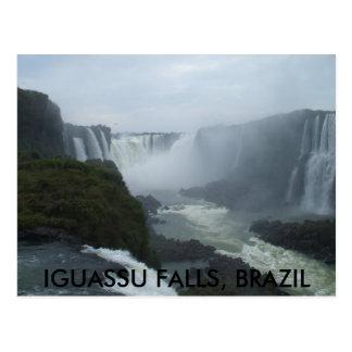 mission 032, IGUASSU FALLS, BRAZIL Postcard