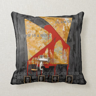 Mission Accomplice Throw Pillow