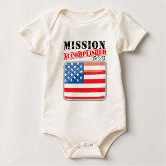 Mission Accomplished 5/1/11 Baby Bodysuit