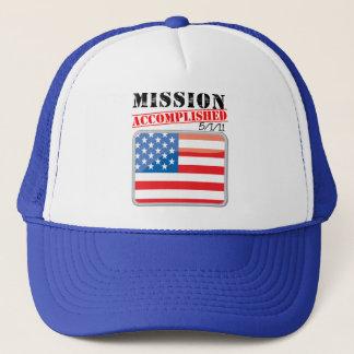 Mission Accomplished 5/1/11 Trucker Hat