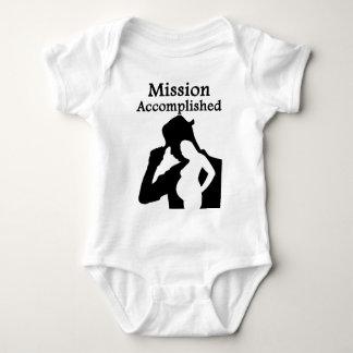Mission Accomplished Baby Bodysuit