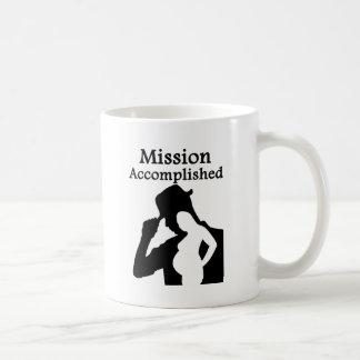 Mission Accomplished Classic White Coffee Mug
