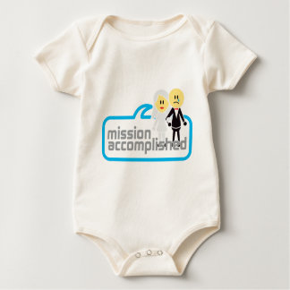 Mission Accomplished Marriage Baby Bodysuit