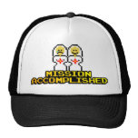 """Mission Accomplished"" Marriage (Lesbian, 8-bit) Trucker Hat"