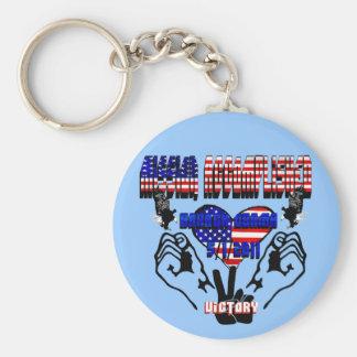 Mission Accomplished Obama Kills Osama Keychain