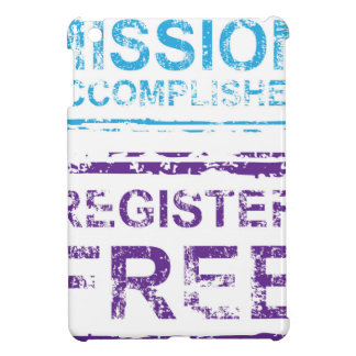 Mission Accomplished Register Free Stamp Cover For The iPad Mini