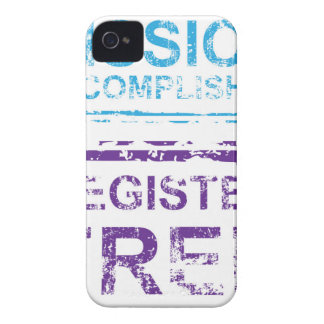Mission Accomplished Register Free Stamp iPhone 4 Case-Mate Case