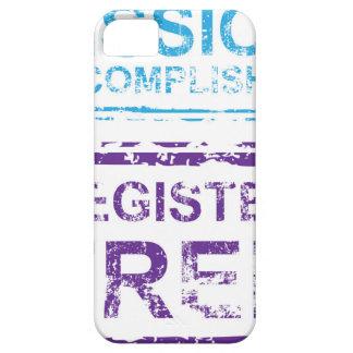 Mission Accomplished Register Free Stamp iPhone SE/5/5s Case