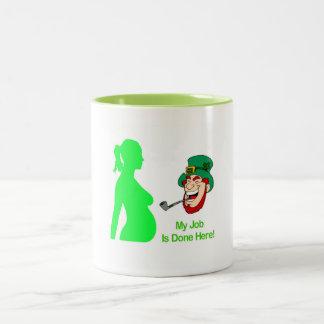 Mission Accomplished Two-Tone Coffee Mug