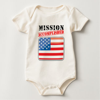 Mission Accomplished United States Baby Bodysuit