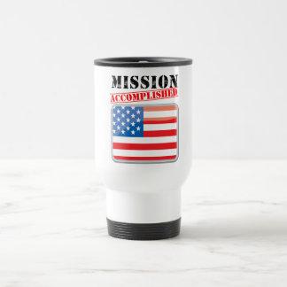 Mission Accomplished United States Travel Mug