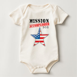 Mission Accomplished USA Baby Bodysuit