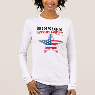 Mission Accomplished USA Long Sleeve T-Shirt