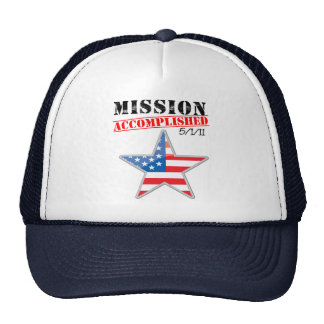 Mission Accomplished USA Trucker Hat