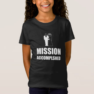 Mission Accomplished Wedding Bride Groom T-Shirt
