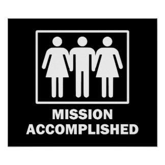 Mission Acomplished Threesome Poster
