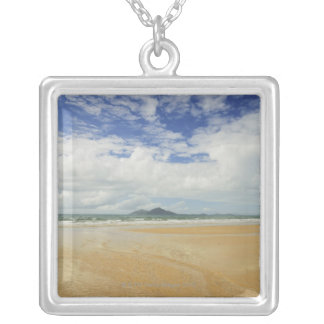 Mission Beach and Dunk Island 2 Silver Plated Necklace