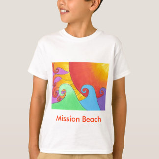 Mission Beach Kids T shirt