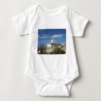 Mission Bell Tower Baby Bodysuit