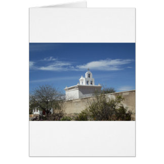 Mission Bell Tower Card