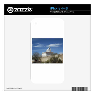 Mission Bell Tower Decals For iPhone 4S