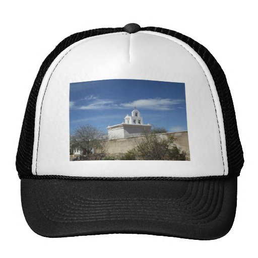 Mission Bell Tower Mesh Hat