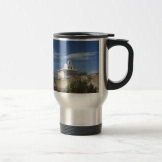 Mission Bell Tower Travel Mug