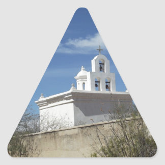 Mission Bell Tower Triangle Sticker