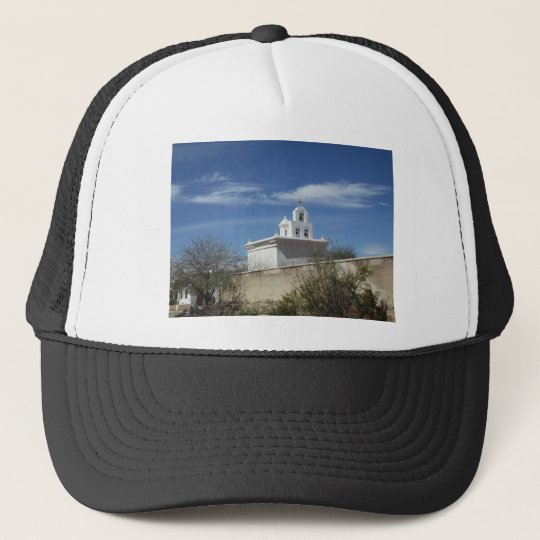 Mission Bell Tower Trucker Hat