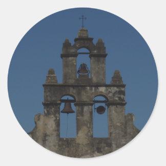 Mission Bells Classic Round Sticker