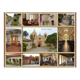 Mission Carmel Postcard