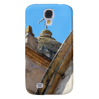 Mission church tower and cross galaxy s4 cases